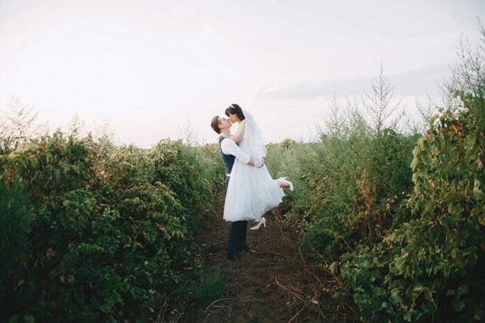 Фотосесія у винограднику на весілля, фотограф на весілля Солодкий Максим